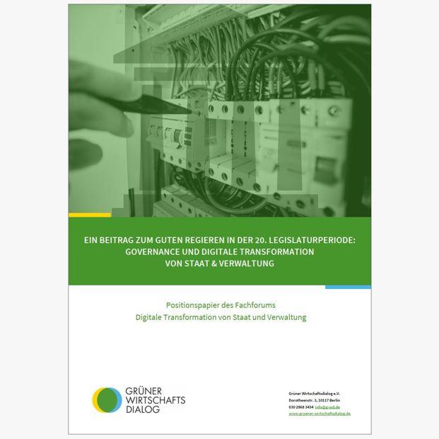 Positionspapier: Governance und digitale Transformation von Staat und Verwaltung